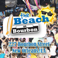 Beach on Bourbon 227 Bourbon Street, New Orleans, LA