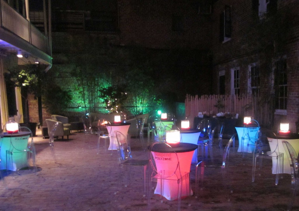 French Quarter Courtyard Event at The Swamp on Bourbon Street