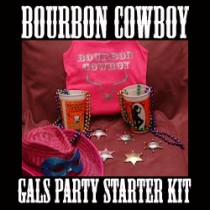 bourbon cowboy gals party starter kit