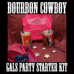 bourbon cowboy gals party starter kit