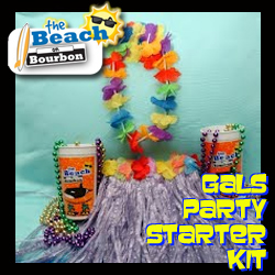 beach on bourbon gals party starter kit