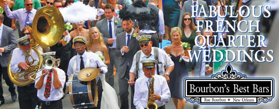 FABULOUS FRENCH QUARTER WEDDINGS AT BOURBONS BEST BARS
