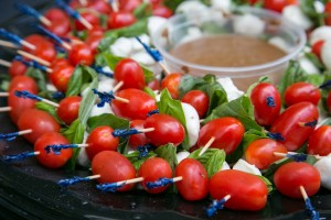 Bourbon's Best Events - Tomato mazzeralla cheese - 2015 Kathy Anderson Photography