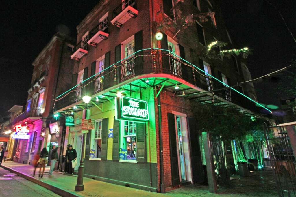 best bourbon street bars