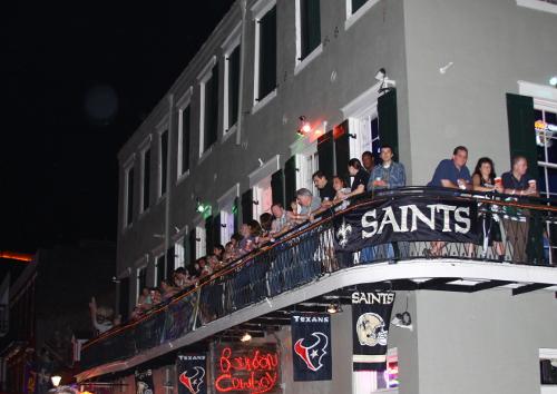Bourbon Street Balcony Rentals - Bourbon Cowboy