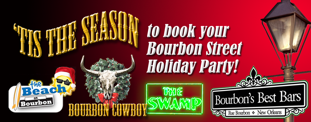 bourbon street holiday party